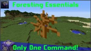 Télécharger Foresting Essentials pour Minecraft 1.11.2
