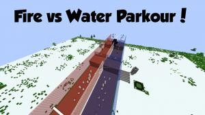 Télécharger Fire vs. Water Parkour pour Minecraft 1.8.7