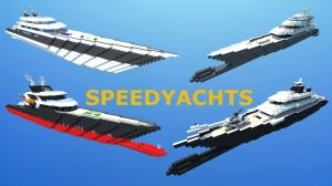 Télécharger Modern Luxury Speed Yachts pour Minecraft 1.7.10