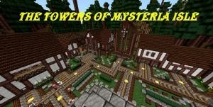 Télécharger The Towers of Mysteria Isle pour Minecraft 1.8.4