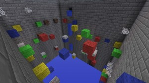 Télécharger Multi-Colored Parkour: The Death Penalty pour Minecraft 1.4.7