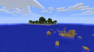 Télécharger The Lost Island pour Minecraft 1.4.7