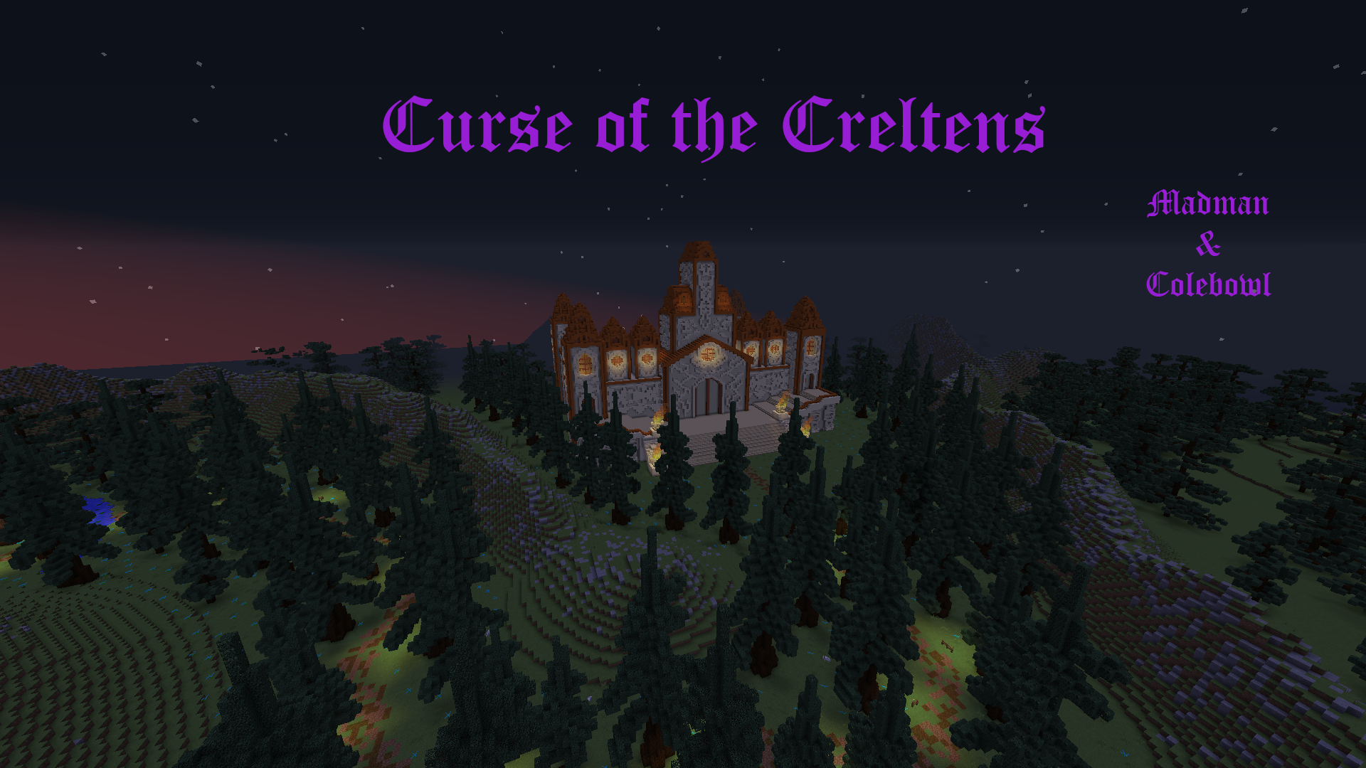 Télécharger Curse of the Creltens pour Minecraft 1.12.2