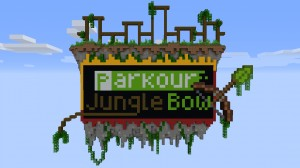 Télécharger Parkour Jungle Bow pour Minecraft 1.15.1