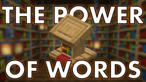 Télécharger The Power of Words pour Minecraft 1.16.3