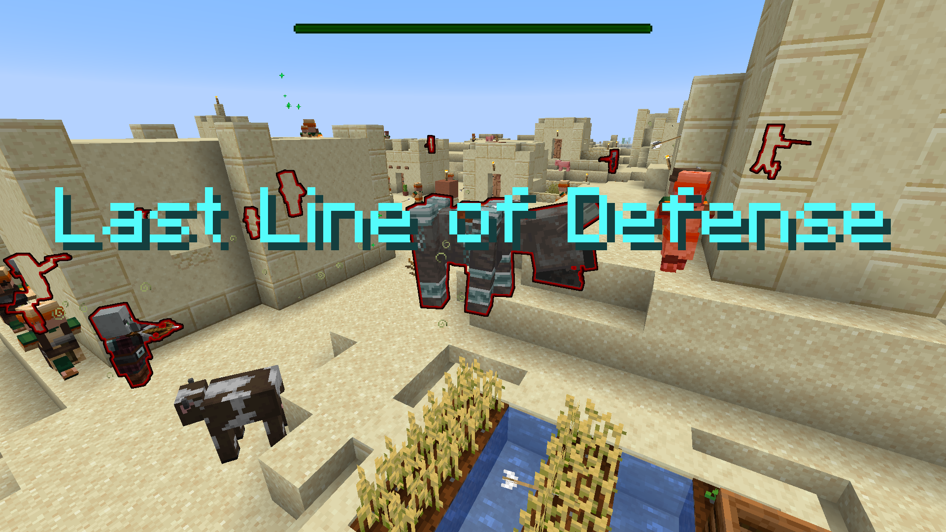 Télécharger Last Line of Defense pour Minecraft 1.16.5