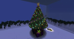 Télécharger Journey to the Christmas Tree pour Minecraft 1.12.1