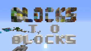 Télécharger Blocks to Blocks pour Minecraft 1.12.1